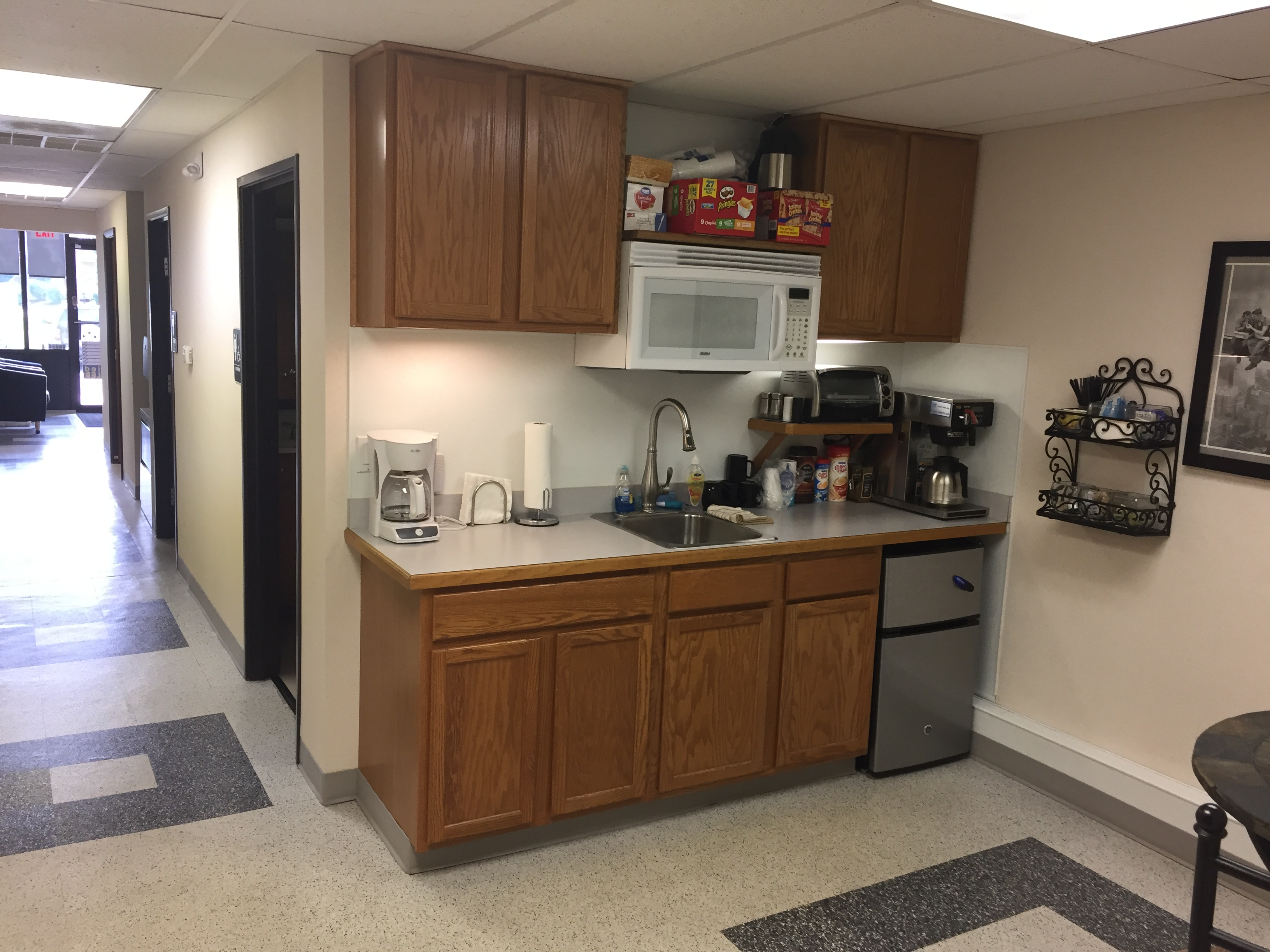 Blind Cleaning Services Kitchenette